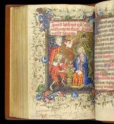 The Annunciation, In 'The Hamelden Hours'